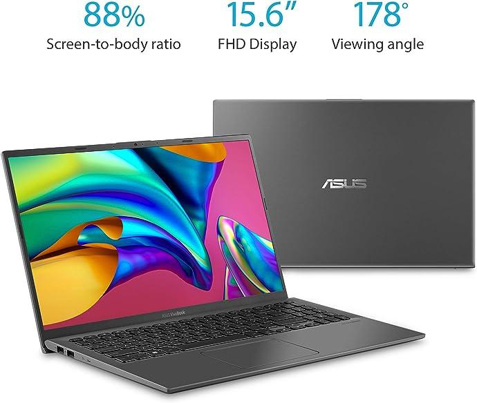 ASUS 华硕 VivoBook F512JA-AS34 15.6″轻薄笔记本电脑( i3-1005G1/8GB/128GB)$399.99 海淘转运到手约¥3019