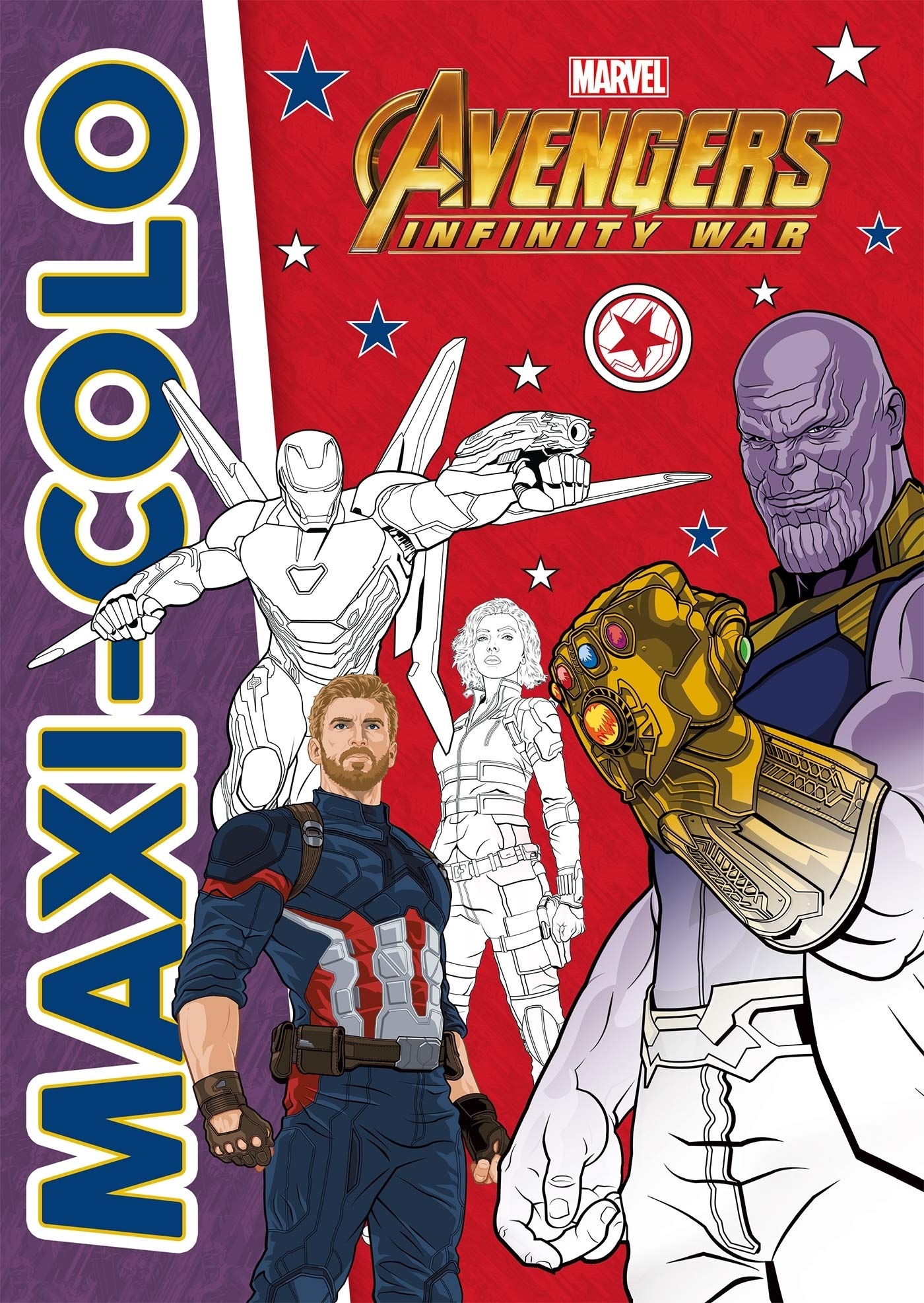 Avengers Infinity War Maxi Colo Marvel French Edition