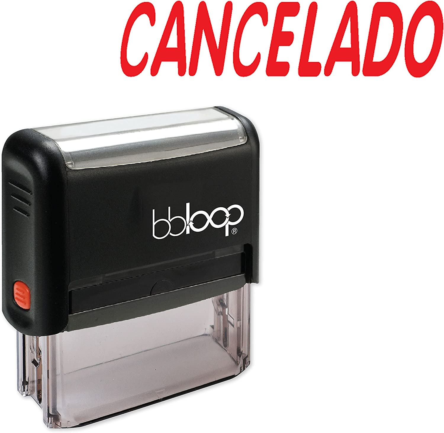 """""""Cancelado"""" Self-Inking Rubber-Stamp in Spanish"""