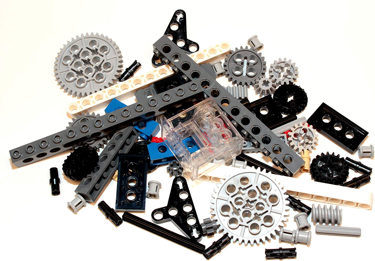 LEGO 100pc Lot of Assorted Technic Mindstorms Axle Pieces Lot 6