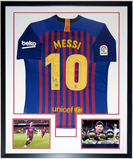 best loved cd407 beaba Lionel Messi Signed Authentic Nike Barcelona Jersey - BAS ...