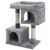 FEANDREA Cat Tree for Large Cats Deals