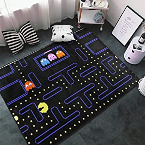 Hidreama Arcade Game Bedroom Living Room Kitchen Floor Mats Home Decor Non-Slip Floor Pad Rugs Fast Dry Rug Yoga Mat Throw Rugs Carpet, 60 X 39 Inch