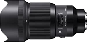 Sigma 4321965 85mm f/1.4 DG HSM Art Lens for Sony (E-Mount), Black