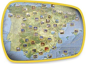 Educa Borrás - Puzzle España de 150 Piezas (15946): Amazon.es: Juguetes y juegos