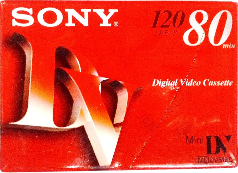Sony Mini DV Digital Video Cassette 120 LP 80 Min.