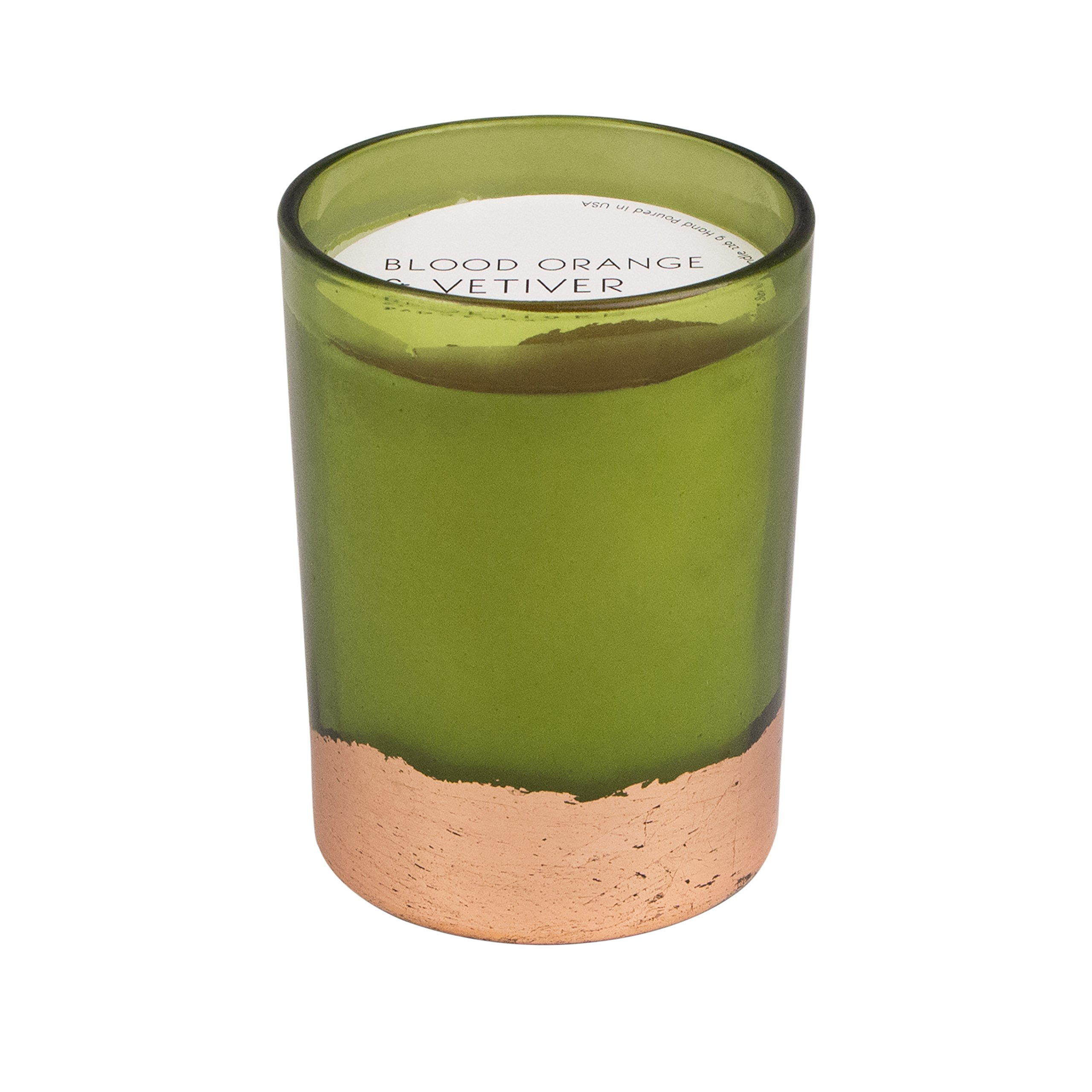 Paddywax Gilt Collection Scented Soy Wax Candle, 8-Ounce, Blood Orange & Vetiver