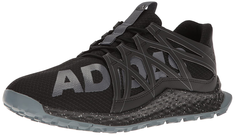 adidas Vigor Bounce Shoe Men's Trail Running B01H67C66U 8 D(M) US|Black/Onix/Grey
