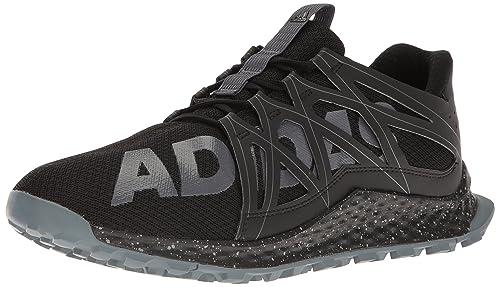 the latest f7bd3 19718 adidas Men s Vigor Bounce m Trail Runner Black Onix Grey 10 ...