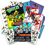 Savvi Temporary Tattoos Party Pack for Boys -- Over 150 Tattoos Featuring Marvel Avengers,