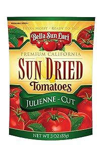 Bella Sun Luci Julienne-Cut Sun Dried Tomatoes, 3 oz