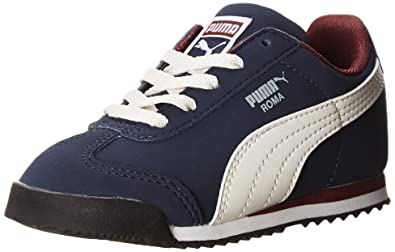 PUMA Roma SL NBK Sneaker (Infant/Toddler/Little Kid) , Peacoat/