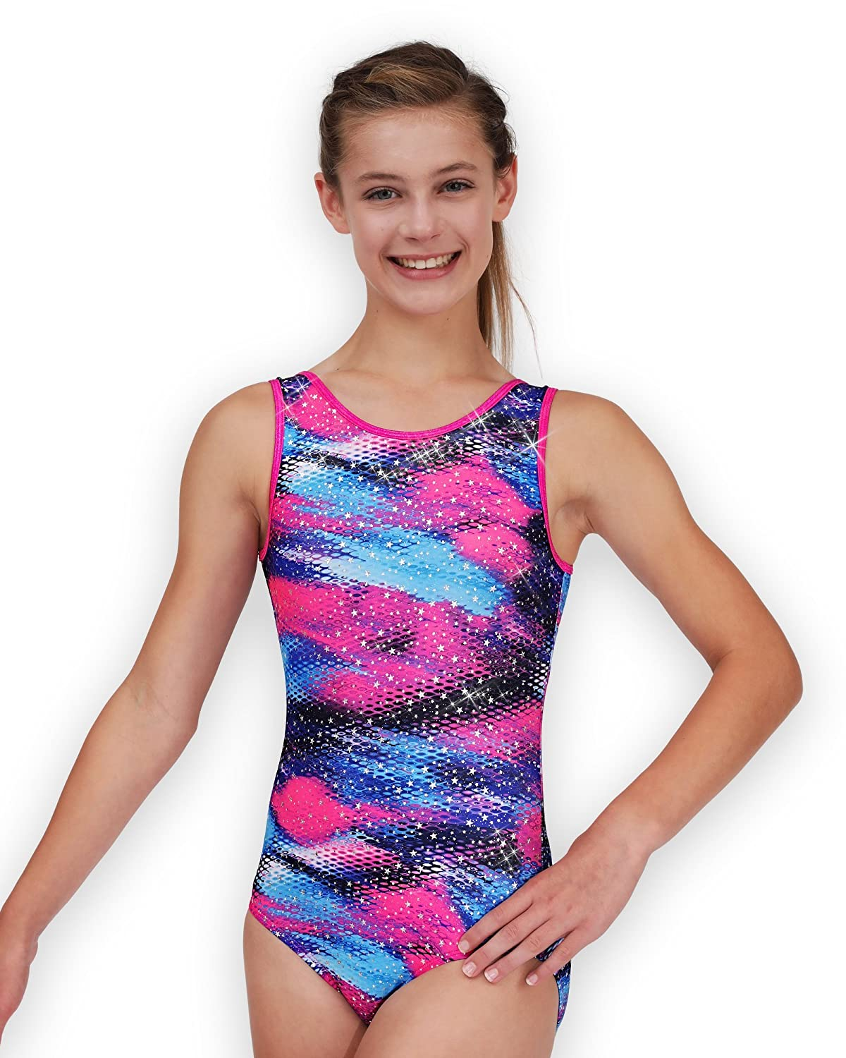 Purple and Pink Collection Leap Gear Gymnastics Leotard for Girls