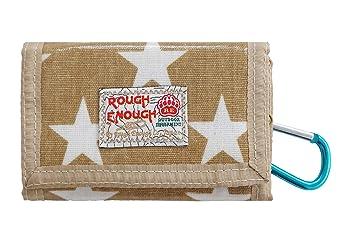 Rough Enough brillante Lienzo Star accesorios Mini Casual Cartera, amarillo: Amazon.es: Deportes y aire libre