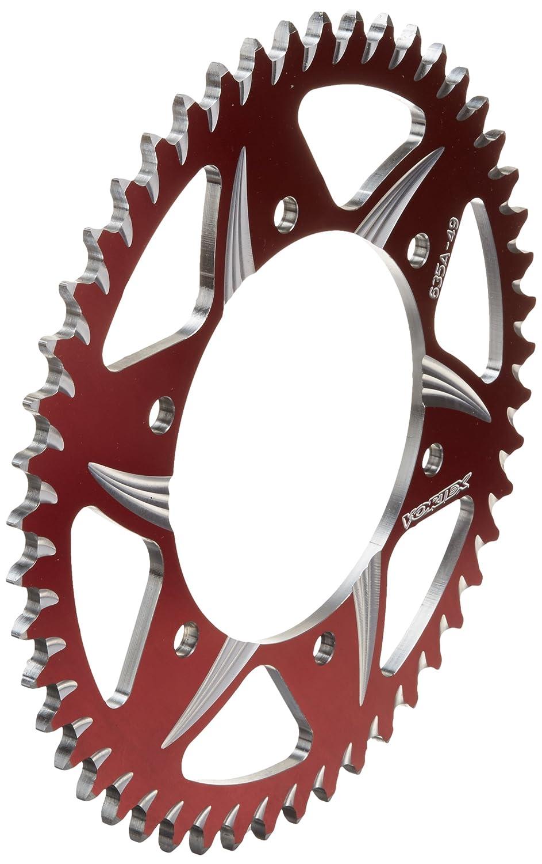 Vortex 635AZR-49 Red 49-Tooth Rear Sprocket