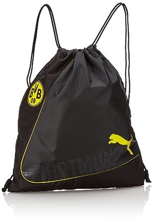 9e92c09acfc48 PUMA Turnbeutel BVB evoPOWER Gym Sack cyber yellow Black 21.8 x 20 x 46.5 cm