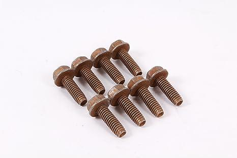 8 Pack Genuine MTD 710-0602 Hex Flange Screw Fits Columbia Craftsman Huskee