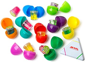 Amazon 15 easter eggs with toys inside filled with 15 easter 15 easter eggs with toys inside filled with 15 easter toy silly putty surprise negle Gallery