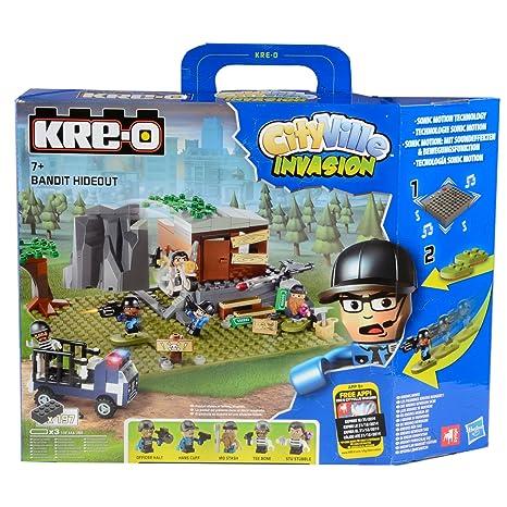 Hasbro r2908 Bricks KRE de O City Villeroy Invasion, diseño Cajas