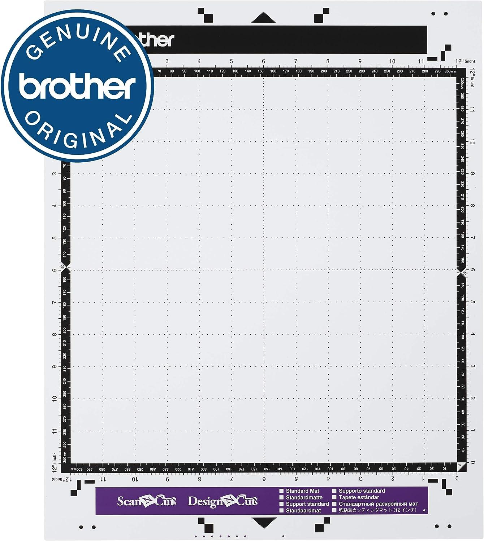 Brother Alfombrilla Adhesiva de Baja adherencia 30,5 x 30,5 cm