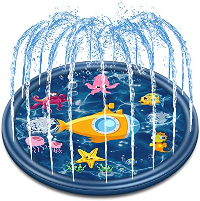 """Jozo Outdoor Sprinkler Water Toys for Kids and Toddlers 68"""""""