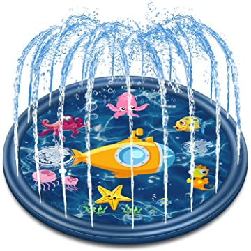 Jozo Outdoor Sprinkler Water Toys for Kids and Toddlers 68