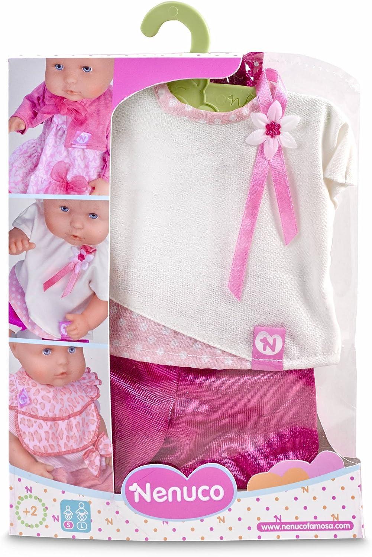 Amazon.es: Nenuco Ropita con percha 35 cm, vestido Rosa (Famosa ...