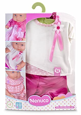 Nenuco Ropita con Percha 35cm, Vestido Rosa (Famosa 700012823), Color: Amazon.es: Juguetes y juegos