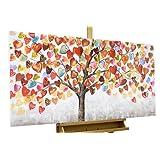 Dipinto in acrilico KunstLoft® '' in 120x60cm | Tele originali manufatte XXL | | Quadro da parete dipinto in acrilico arte moderna in un pezzo