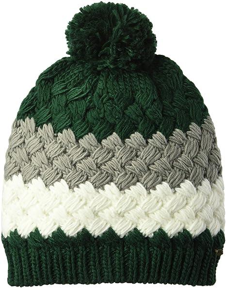 da2a4a7fdfdbe4 O'Neill Women's Cedar Striped Knit Beanie, Multi Colored, One Size ...