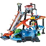 Hot Wheels Color Shifters Ultimate Gator Car Wash Playset, Multi-Colour, FTB67