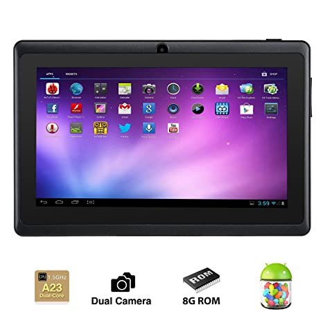 Amazon com: Alldaymall 7 Inch Android 4 4 KitKat Tablet PC