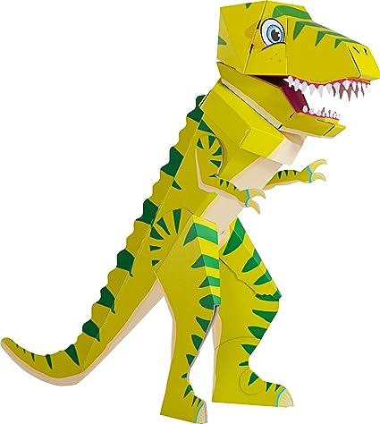Patentierte Schultüte Dino Schulrex 100cm Dinosaurier T Rex Tyrannosaurus Rex Stehende Schultüte Der Kleine Knick Grüner Dino 1 Stück