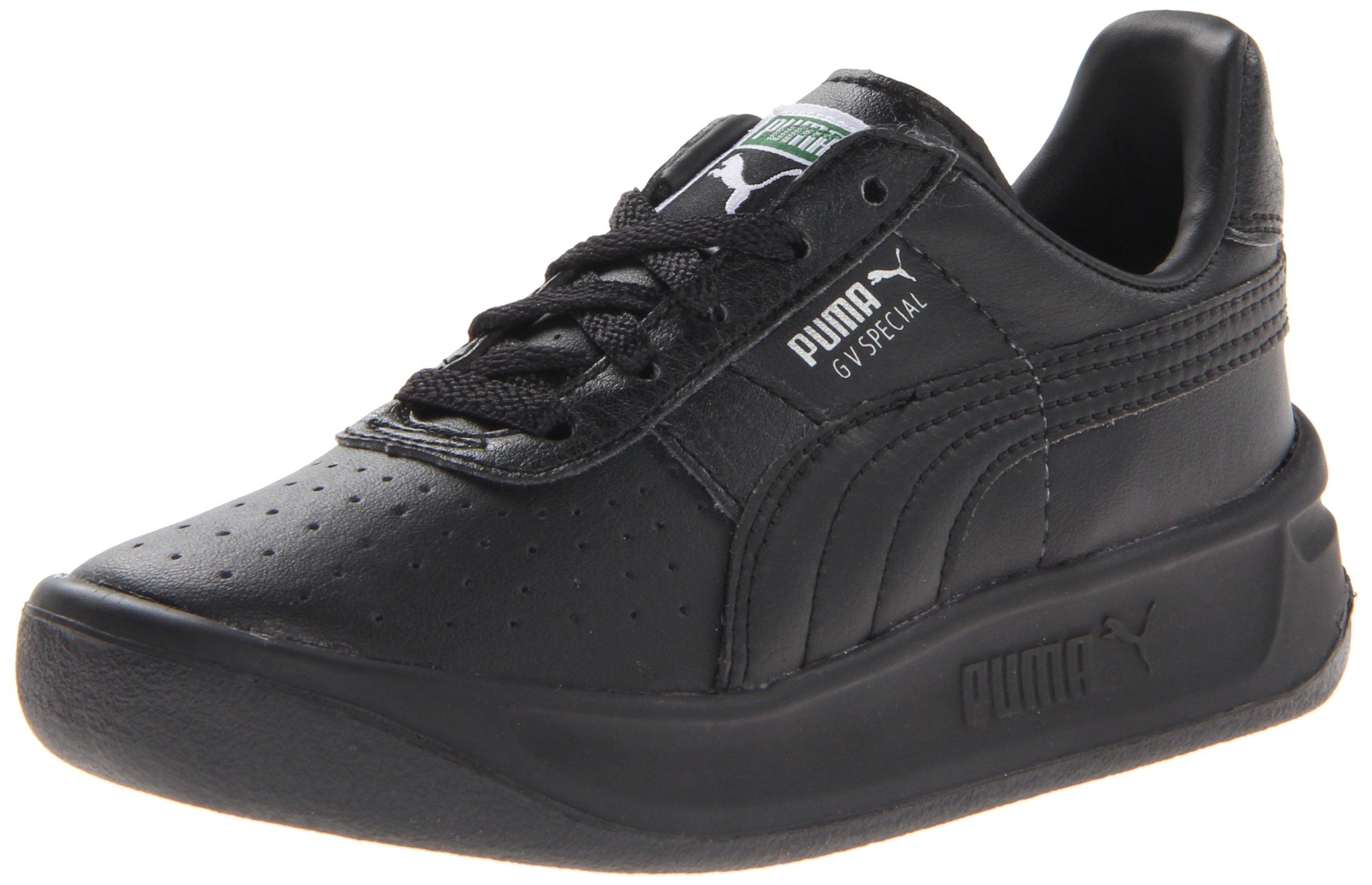 PUMA GV Special Jr Sneaker (Little Kid/Big Kid),Black/Black/PUMA Silver,7 M US Big Kid