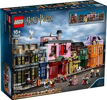 Lego Harry Potter 75978 Winkelgasse Amazon De Spielzeug
