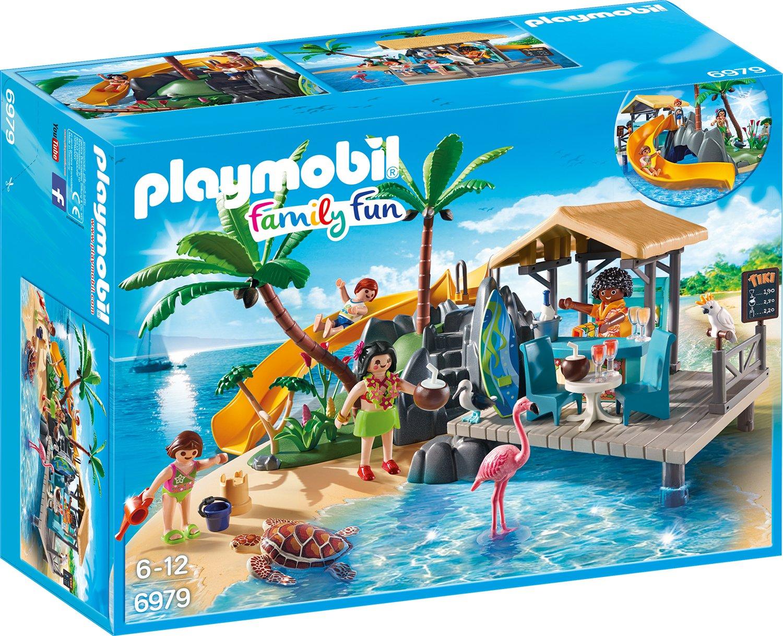 Amazon.de:Playmobil 6979 - Karibikinsel mit Strandbar