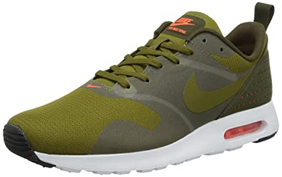 new arrivals 545c3 1144a Nike Mens Air Max Tavas Olive FlakOlv FlkDrk LdnWht Running