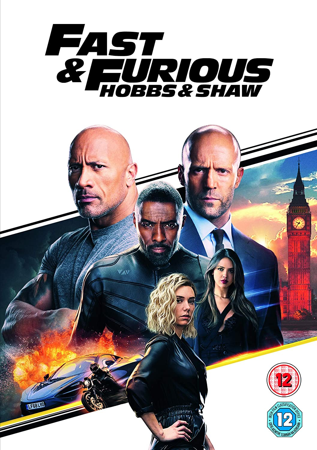 Fast Furious Presents Hobbs Shaw Dvd 2019 Amazon Co Uk Dvd Blu Ray