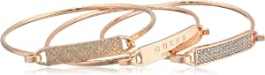 Guess 3 Piece Tension Id Bangle Bracelet