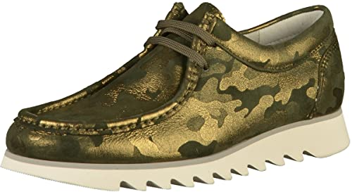 Sioux 61137 - Mocasines para Mujer, Color Verde, Talla 40.5 EU: Amazon.es: Zapatos y complementos