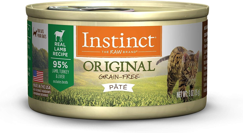 Instinct Original Grain Free Recipe Natural Wet Canned Cat Food (Pack of 12)