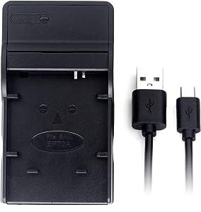 SLB-70A USB Charger for Samsung AQ100, DV100, DV101, DV150F, DV90, ES80, ES90, ES95, SL605, PL120, TL105, TL110, TL205, WB30F, WP10 Camera Battery and More