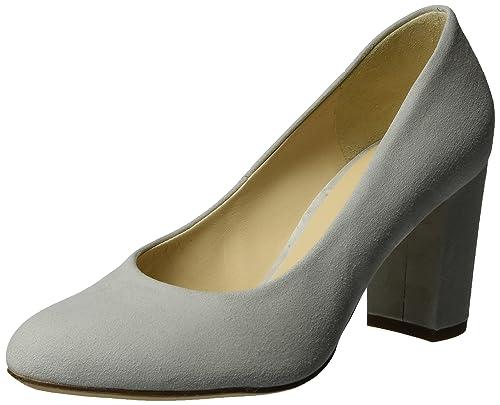 3-10 7002 6700, Zapatos de Tacón para Mujer, Gris (lightgre6700), 37 EU Högl