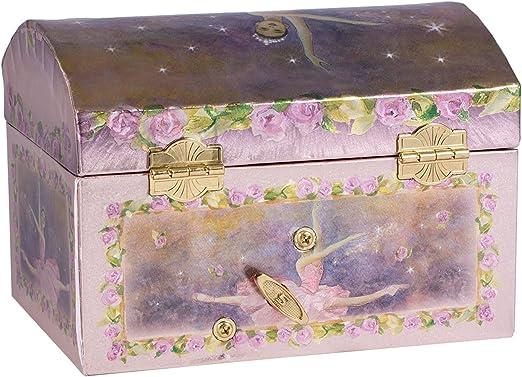 Mele /& Co Niñas Niño Unicornio Princesa Joyas Musical Recuerdo Caja de almacenamiento