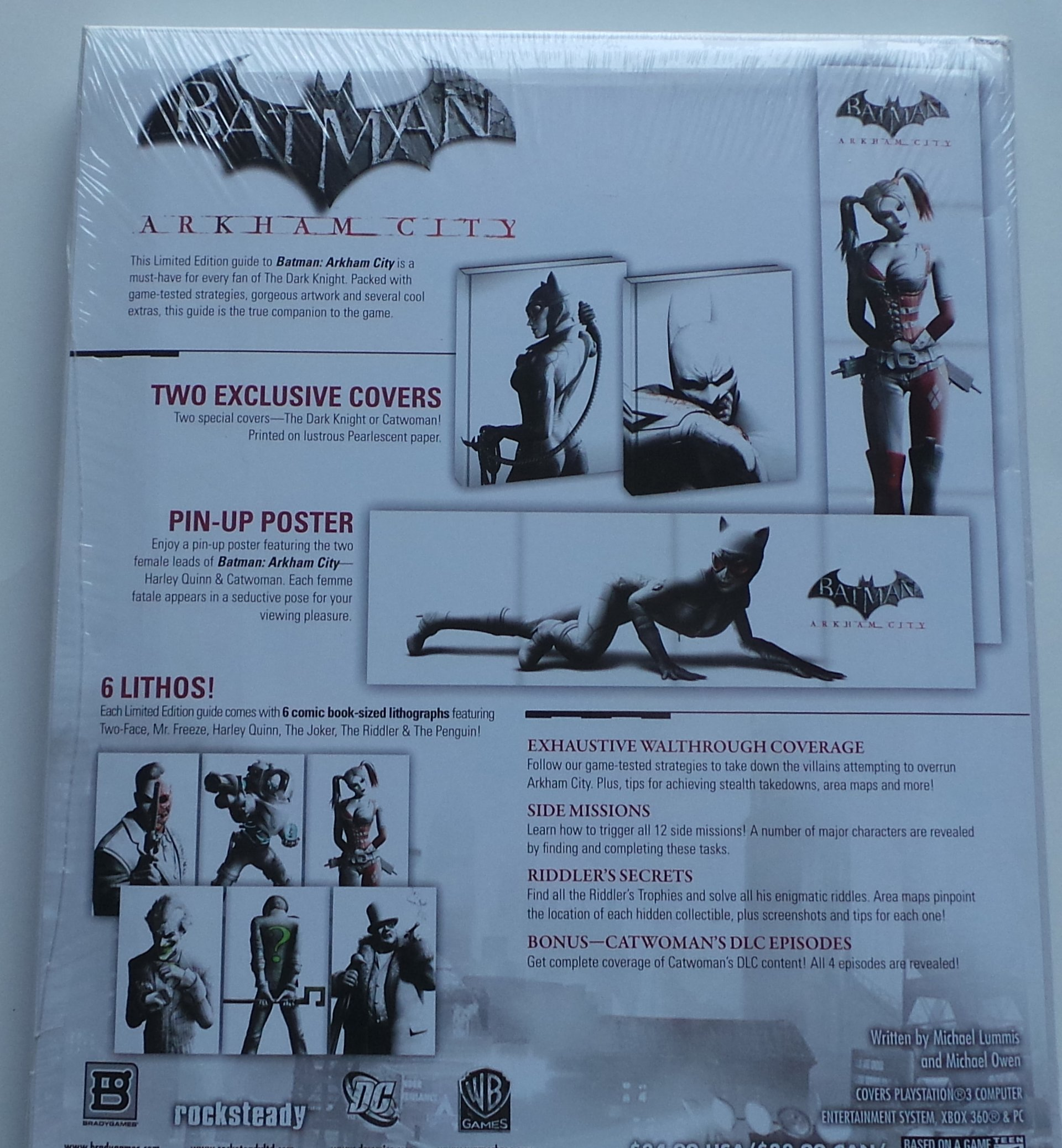 Batman arkham city: strategy guide by andrew mills.