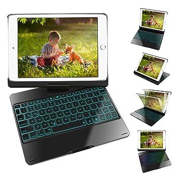 Amazon.com: Funda para teclado iPad de 9,7 pulgadas, iPad ...