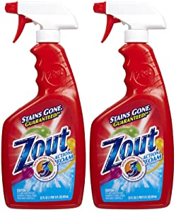 Zout Triple Enzyme Formula Laundry Stain Remover Foam - 22 oz - 2 pk