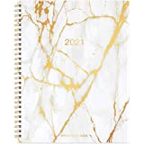 "2021 Weekly Appointment Book & Planner - 2021 Daily Hourly Planner with Twin-Wire Binding, 8"" x 10"", Jan 2021 - Dec 2021…"