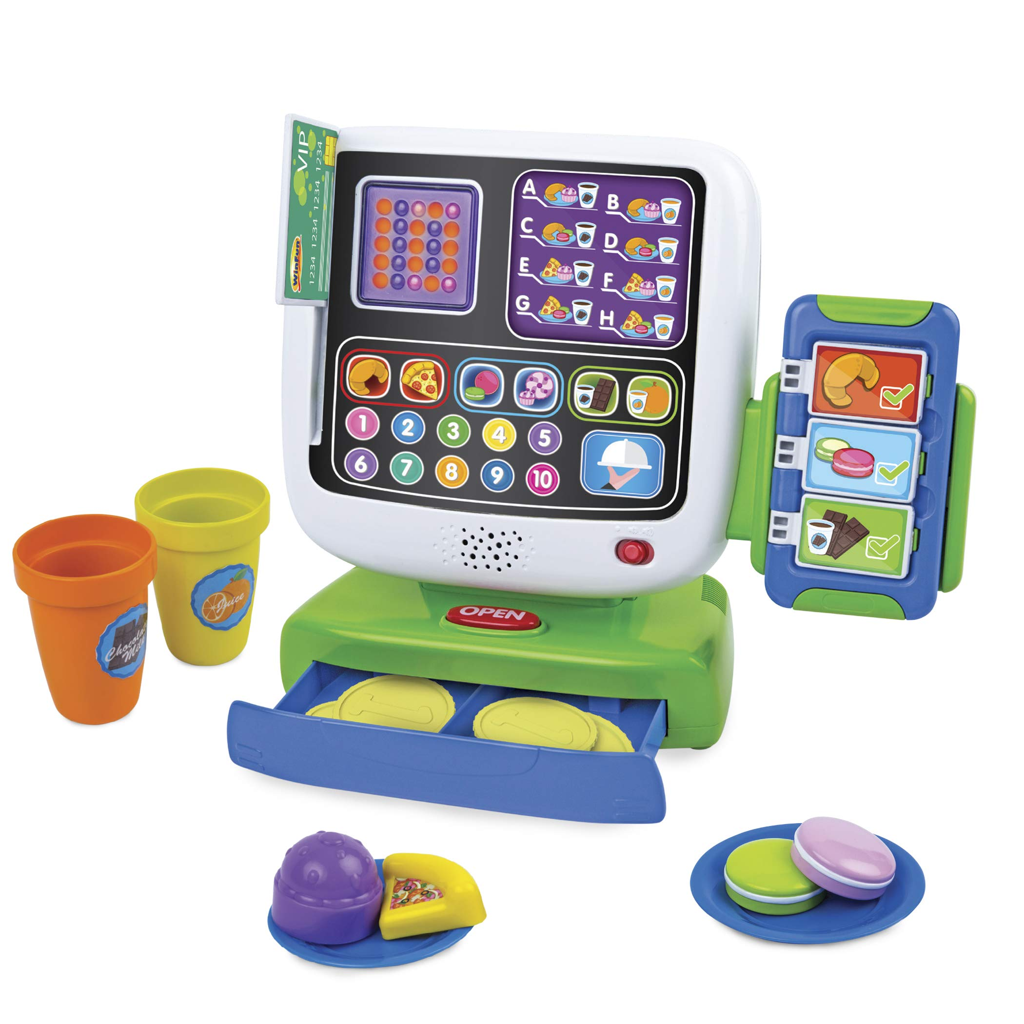 Winfun Icafe Cash Register, Multi by WinFun (Image #1)