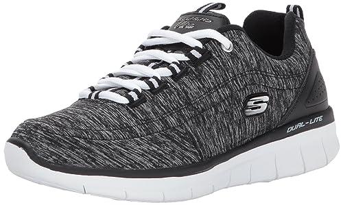 Gris (Grey) Skechers Synergy 2.0 Headliner Formateurs Femme